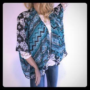 Accessories - Tribal Kimono Wrap